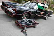 Batmobile Vintage Pedal Car Body Fiberglass