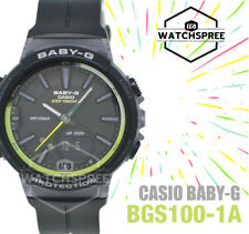 Casio Baby-G Step Tracker Running Series Watch BGS100-1A AU FAST & FREE