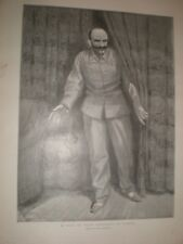 A Visit to Major Esterhazy in London by Paul renouard 1899 print ref G