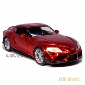 Toyota GR Supra 1:32 Scale Model Car Diecast Toy Vehicle Collection Kid Gift Red