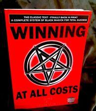 WINNING AT ALL COST Finbarr Grimoire Black Magick Magic Occult Spells Witchcraft