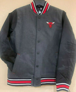 Chicago BULLS Youth Letterman Varsity Jacket by Outerstuff - NBA Licensed