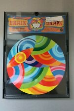 1969 PROFOUND ROUND  Psychadelic BRAIN DRAIN Puzzle Mattel Vintage Brain Teaser