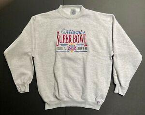 New/Old Stock Vintage Logo 7 1995 Miami Super Bowl XXIX Adult XL Sweatshirt USA