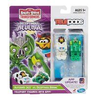 Transformers Angry Birds Deceptihogs Revenge Telepods 2015 Autobirds Jazz Brawl