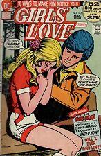 Girls' Love. Low Grade G Condition. #167   DC  Romance  Comic