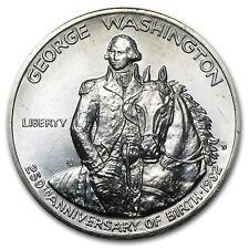 1982 Washington 1/2 Dollar 90% Silver Commem BU/Prf (No box/COA) - SKU #17258