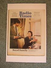 Postcard Royal Family Radio Times June 1969 Queen Elizabeth II Prince Charles