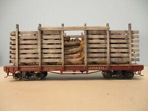 On30 Bachmann SR & RL Pulp Wood Flatcar