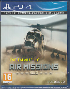Air Missions Hind PS4 Brand New Factory Sealed Action Combat Flight Simulator