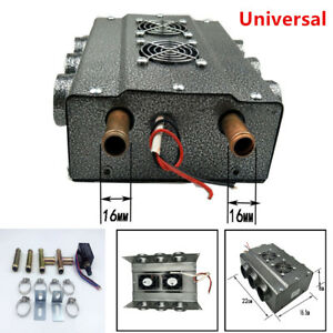 Universal Under dash Heater 12V Heat w/Speed Switch for Car Truck 6 Port Durable