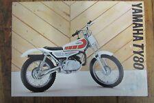 Kickstart Oil Seal 80 CC Yamaha TY 80 1983