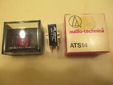 JVC 4MD-20X CARTRIDGE AND NOS GENUINE ATS-14 SHIBATA CD4 QUAD STYLUS IN CASE