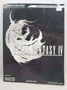Final Fantasy IV Nintendo DS Official Strategy Guide Paperback