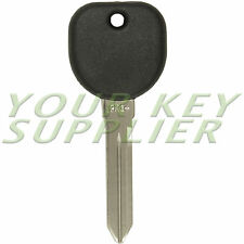 New Uncut Transponder Chip Ignition Key for 2003 - 2007 Cadillac CTS B112-PT