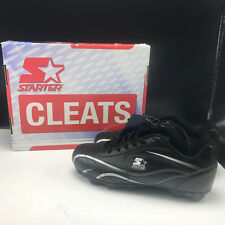 ALL PURPOSE STARTER CLEATS shoes box tags black white size 4 baseball soccer
