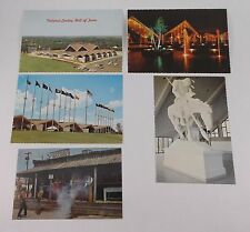 Lot of 5 Oklahoma City National Cowboy Hall of Fame Postcards End of The Trail
