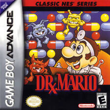 Dr. Mario: Classic NES Series GBA New Game Boy Advance