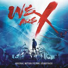 X JAPAN - WE ARE X: ORIGINAL SOUNDTRACK CD NEW