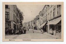 DIEUZE DUSS Moselle CPA 57 rue des halles commerce  magasin