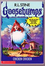 Goosebumps #53 CHICKEN CHICKEN - R L Stine PB Book Vintage 1997 1st Ed