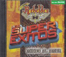 Los Nuevos Rebeldes Los Super Exitos Miedo al Amor CD New Nuevo sealed