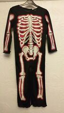 Skeleton Halloween Costume Outfit 5 - 6 Yrs