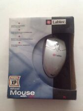 Labtec Corded Wheel Mouse With Light Works With Windows XP Scroll Wheel Y