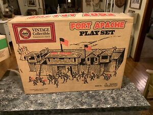FORT APACHE Playset - 1995 Commemorative Edition - FACTORY SEALED NICE