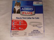 Adams Plus Flea & Tick Collar for Cats - Break Away Collar - 7 Month Protection