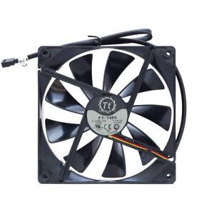ThermalTake 140mm 3-Pin A1425L12S / TT-1425 Black/Glossy Black
