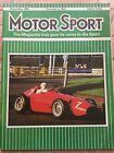 Motor Sport Magazine - November 1984 - Scimitar SS1, Marcos Mantula, Motor Show