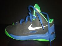 Nike Zoom KD V Kevin Durant Preschool black purple sz 13C Basketball Shoes rare