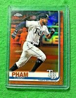 TOMMY PHAM PRIZM CARD SP#/25 TAMPA BAY RAYS 2019 TOPPS CHROME REFRACTOR SP