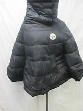 Pittsburgh Steelers Women Medium Long Neck Winter Poncho NFL A14