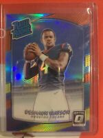 2017 Donruss Optic Rated Rookies Red and Yellow Deshaun Watson #195 Rookie