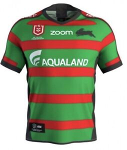 BNWT South Sydney Rabbitohs NRL Rugby League NEW SHIRT TRAINING TOP M 🏉🔥