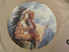 HEAR ME GREAT SPIRIT collector plate PAUL CALLE Indian FRANKLIN MINT Native Am.