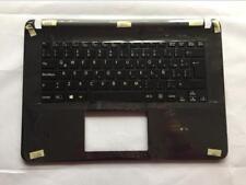 New Sony SVF142C29U SVF143B1YU Palmrest touchpad keyboard Latin Spanish backlit