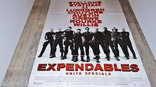 EXPENDABLES unite speciale  ! stallone  , statham affiche cinema