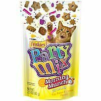 Friskies Party Mix Cat Treats Morning Munch Crunch Egg Bacon Cheese Flavors