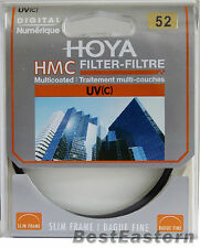 Genuine HOYA HMC UV (C) 52mm Multi-Coated Slim frame lens filter 52 mm