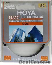 Genuine HOYA HMC UV (C) 52mm Multi-Coated Slim frame lens filter
