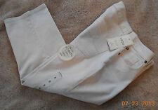 Izod Stretch Stone Secret Slimming Denim Cropped Jeans Size 8 NWT