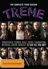 Treme : Season 3 (DVD, 2013, 4-Disc Set)  New, ExRetail Stock, Genuine D49