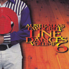AUSTRALIA'S FAVOURITE  LINE DANCES - CD - VOLUME 6