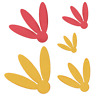 Lifestyle Crafts QuicKutz Cutting Die Set  PETALS  Springtime, Flowers  ~DC0076