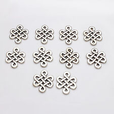 10pcs Tibetan Silver Celtic Knot Charms Pagan/Celtic