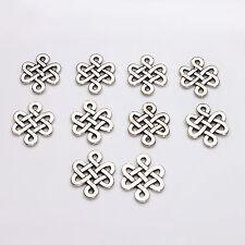 10pcs Tibetan Silver Celtic Knot Charms Pagan/Celtic