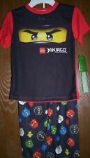 Lego NINJAGO Pajamas Boy's 4 NeW Shirt Pants Pjs set Kai Zane Cole Jay Legos